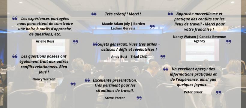 ADRIC 2018 Testimonials FR1