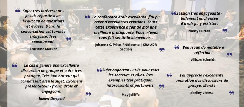 ADRIC 2018 Testimonials FR2